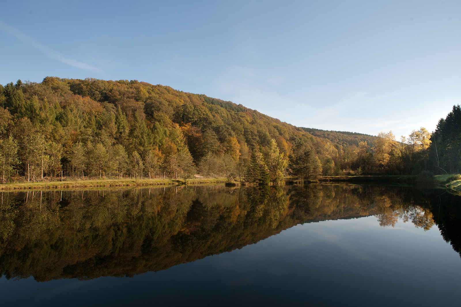 Pond at castle Ehreshoven near Cologne