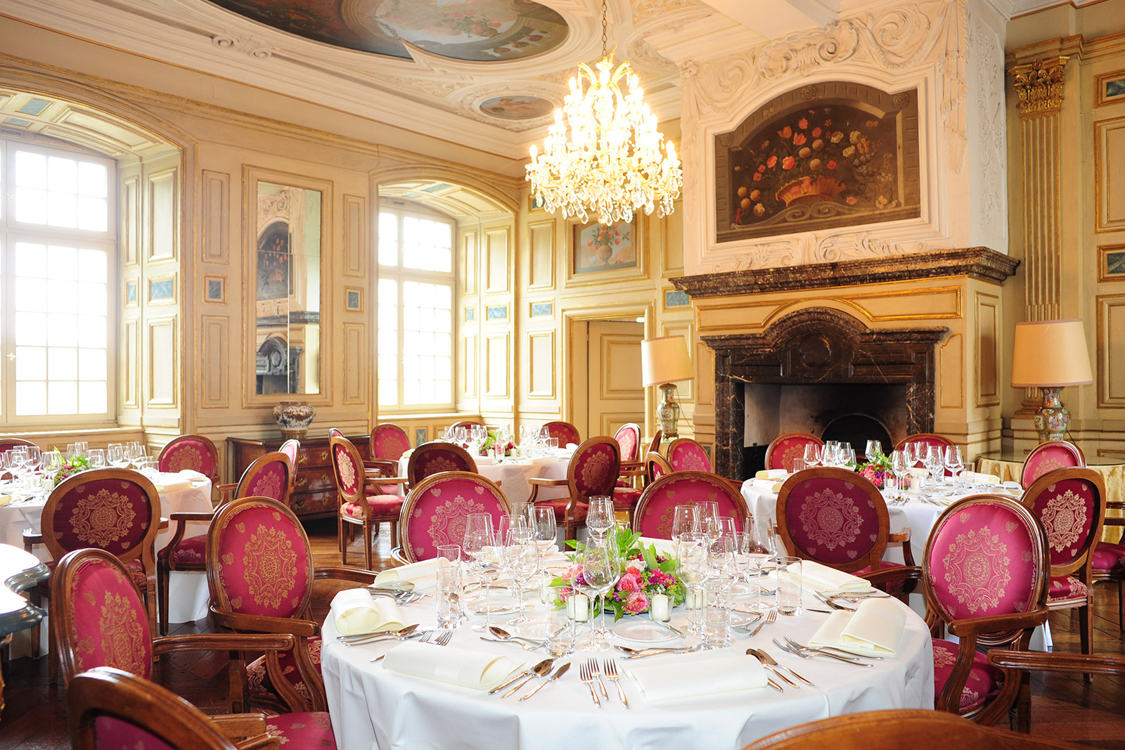 Dinner at Schloss Ehreshoven for guests